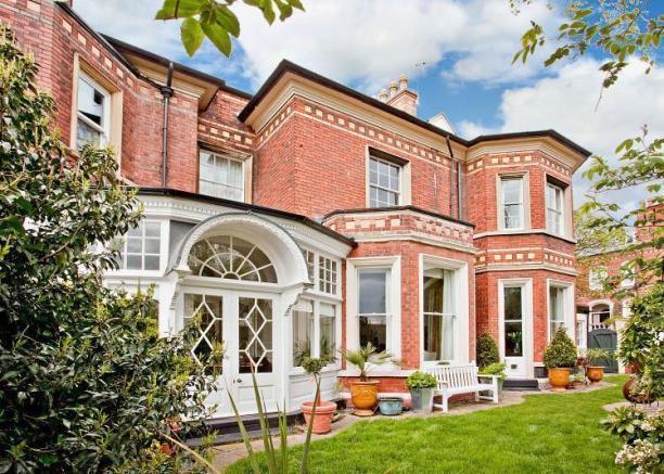 Grand brick-built Victorian villa