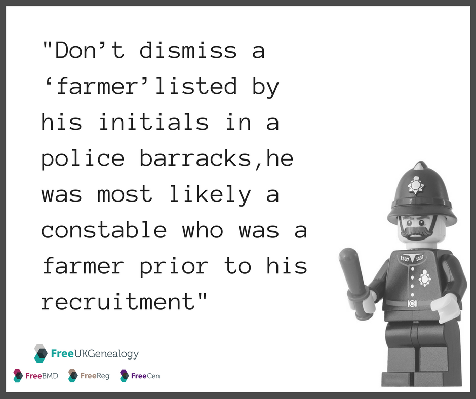 Image repeats info from previous paragraph with lego policeman
